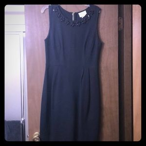 Kate Spade black fitted dress